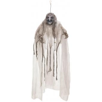 EUROPALMS Halloween Witch, white, 170x50x20cm