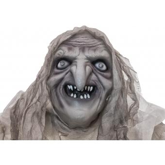 EUROPALMS Halloween Witch, white, 170x50x20cm #2