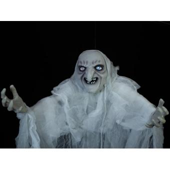 EUROPALMS Halloween Witch, white, 170x50x20cm #4