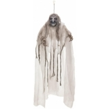 EUROPALMS Halloween Witch, white, 170x50x20cm