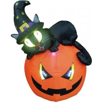 EUROPALMS Inflatable figure Witch pumpkin, 150cm