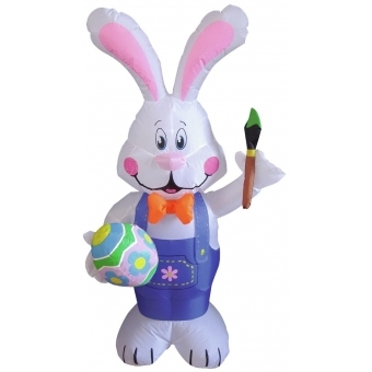 EUROPALMS Inflatable figure Bunny Benny, 120cm