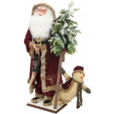 EUROPALMS Santa clause, standing, 150cm