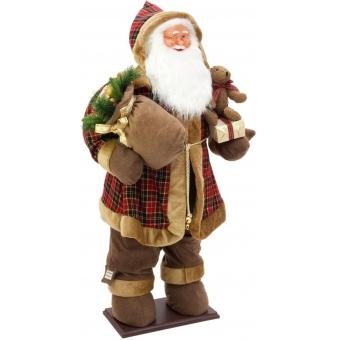 EUROPALMS Bushy beard Santa, inflatable with integrated pump, 16 #2
