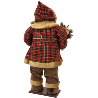 EUROPALMS Bushy beard Santa, inflatable with integrated pump, 16 #3
