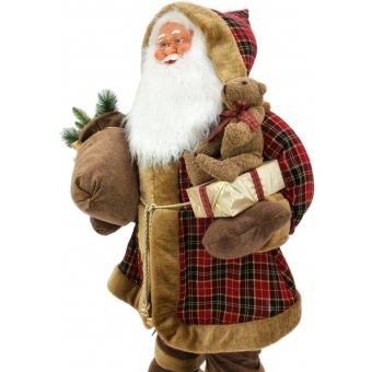 EUROPALMS Bushy beard Santa, inflatable with integrated pump, 16 #4