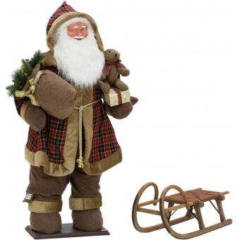 EUROPALMS Bushy beard Santa, inflatable with integrated pump, 16 #5