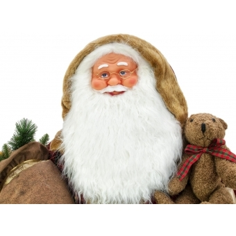 EUROPALMS Bushy beard Santa, inflatable with integrated pump, 16 #6