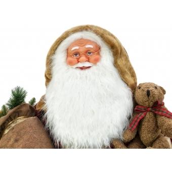 EUROPALMS Bushy beard Santa, inflatable with integrated pump, 16 #6