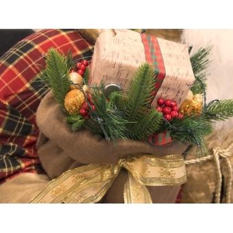 EUROPALMS Bushy beard Santa, inflatable with integrated pump, 16 #7