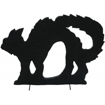 EUROPALMS Silhouette Cat, 63cm