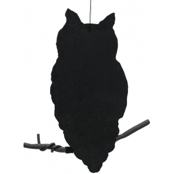 EUROPALMS Silhouette Owl, 62cm