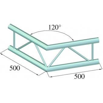 ALUTRUSS BILOCK E-GL22 C22-V 2-Way Corner 120° #2
