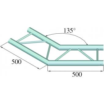 ALUTRUSS BILOCK E-GL22 C23-H 2-Way Corner 135° #2