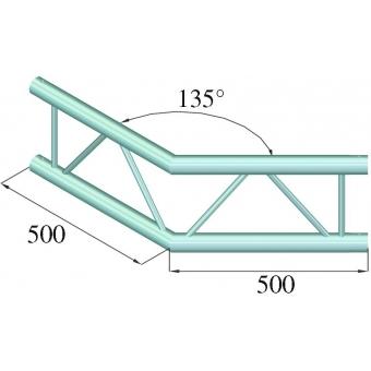 ALUTRUSS BILOCK E-GL22 C23-V 2-Way Corner 135° #2
