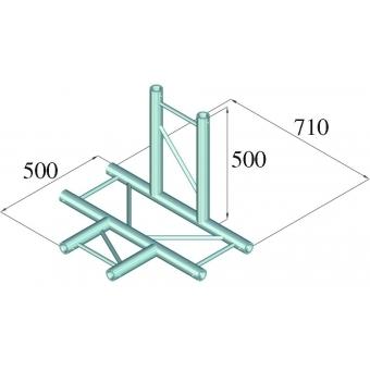 ALUTRUSS BILOCK E-GL22 T42-V 4-Way Corner 90° #2