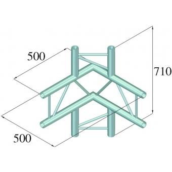 ALUTRUSS BILOCK E-GL22 C44-V 4-Way Corner 90° #2