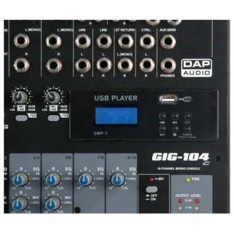DAP-Audio MP3 USB modul play pt. GIG #2