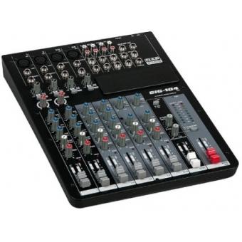 DAP-Audio GIG-104C 10 Channel live mixer incl. dynamics
