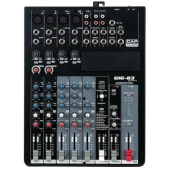DAP-Audio GIG-83CFX 8 Channel live mixer incl. dynamics & DSP #2