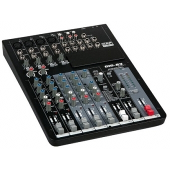 DAP-Audio GIG-83CFX 8 Channel live mixer incl. dynamics & DSP