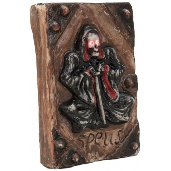 EUROPALMS Halloween Skeleton Book, 25x17x7cm