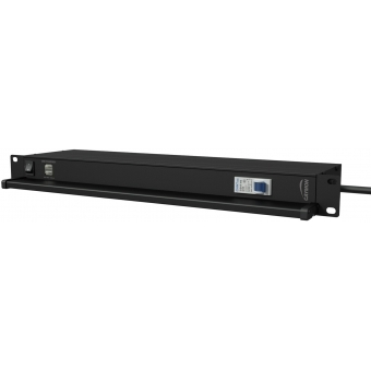 "PSR419F 19"" power distribution - 9 x french sockets - light/usb/fuse"