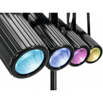EUROLITE LED QDF-Bar RGBAW Light Set #5