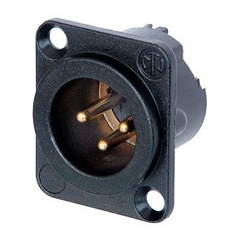 NC3MD-LX-B conector XLR tata panou