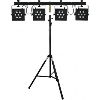 EUROLITE Set LED KLS-801 + STV-40-WOT Aluminium stand