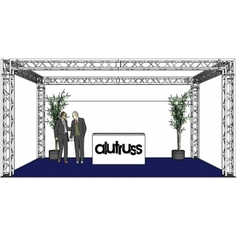 ALUTRUSS Truss set QUADLOCK 6082 rectangle 7x4x3.5m (WxDxH) #2