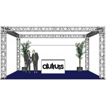 ALUTRUSS Truss set QUADLOCK 6082 rectangle 7x4x3.5m (WxDxH) #2