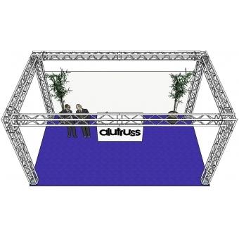 ALUTRUSS Truss set QUADLOCK 6082 rectangle 7x4x3.5m (WxDxH) #3