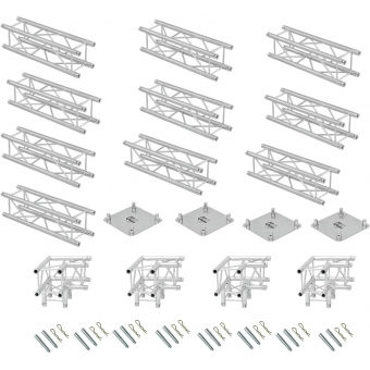 ALUTRUSS Truss set QUADLOCK 6082 rectangle 7x4x3.5m (WxDxH) #4