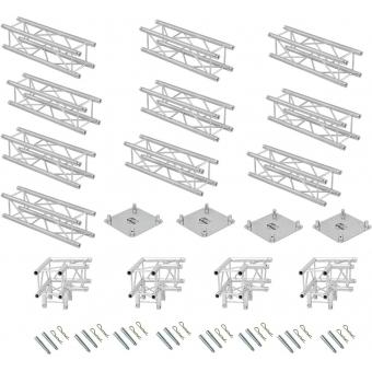 ALUTRUSS Truss set QUADLOCK 6082 rectangle 7x4x3.5m (WxDxH) #4