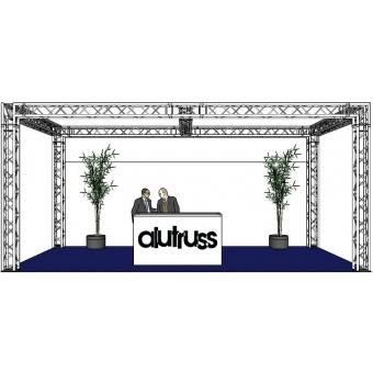 ALUTRUSS Truss set QUADLOCK 6082 rectangle 7.71x4x3.5m (WxDxH) #2