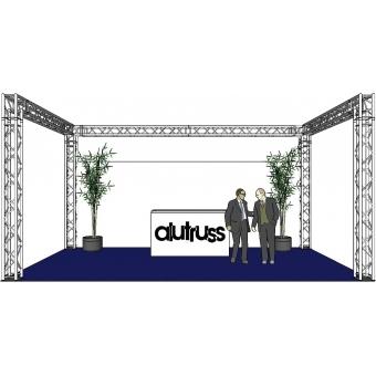 ALUTRUSS Truss set QUADLOCK 6082 U-Figure 7x4x3.5m (WxDxH) #2