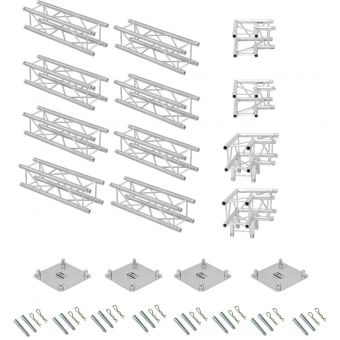 ALUTRUSS Truss set QUADLOCK 6082 U-Figure 7x4x3.5m (WxDxH) #4
