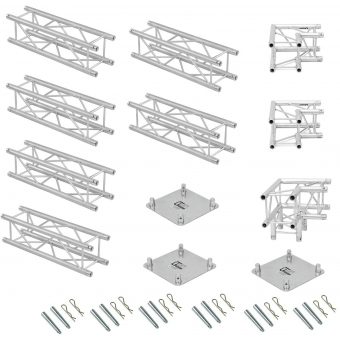 ALUTRUSS Truss set QUADLOCK 6082 L-Figure 7x4x3.5m (WxDxH) #4
