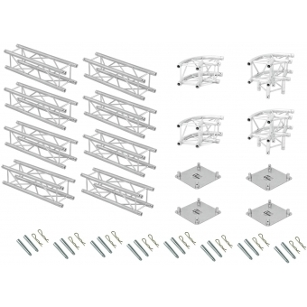 ALUTRUSS Truss set QUADLOCK 6082R U-Figure 7x4x3.5m (WxDxH) #4