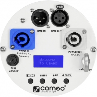 Cameo Studio PAR 64 CAN RGBWA+UV 12 W WH #4