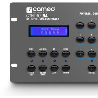 Cameo CONTROL 54 54-Channel DMX Controller #4