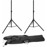 OMNITRONIC Set 2x M-2 Speaker system stand + Carrying bag