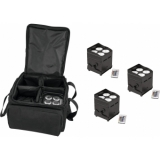 EUROLITE Set 4x AKKU UP-4 QCL Spot QuickDMX + SB-4 Soft-Bag L
