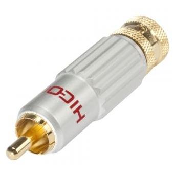 Conector HICON RCA HI-CM13-BLK