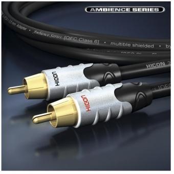 Cablu Hicon 2RCA-2RCA 1.5m Ambiance Series HIA-C2C2-0150 #3
