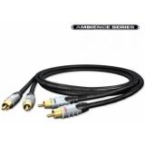 Cablu Hicon 2RCA-2RCA 1.5m Ambiance Series HIA-C2C2-0150