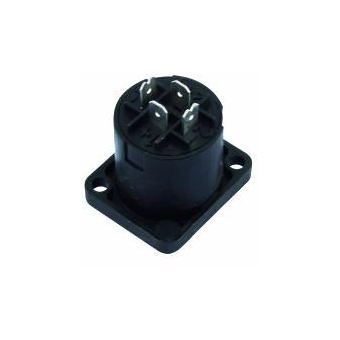 NEUTRIK Speakon mounting socket 4pin NL4MP #3