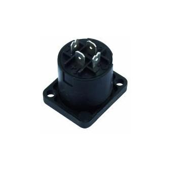 NEUTRIK Speakon mounting socket 4pin NL4MP #3