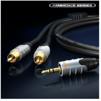 Cablu Hicon Ambience Series 2RCA-jack 3.5mm st.5m HIA-C2J3-0500 #3